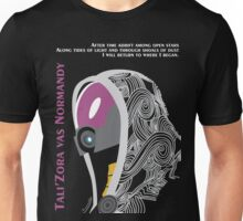 Mass Effect - Tali'Zora vas Normandy Unisex T-Shirt
