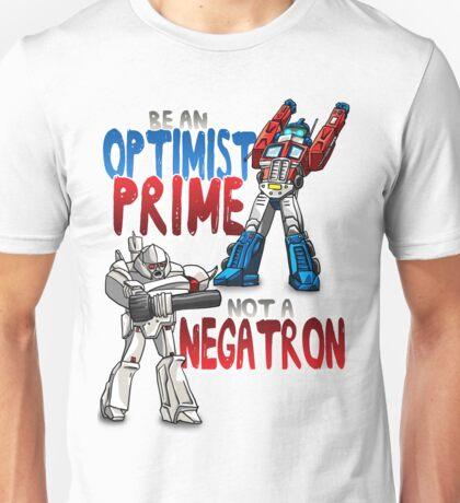 Optomist Prime - Negatron Unisex T-Shirt