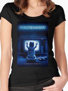 Poltergeist Women's Fitted Scoop T-Shirt