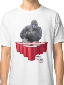 Harambe Beer Pong Classic T-Shirt