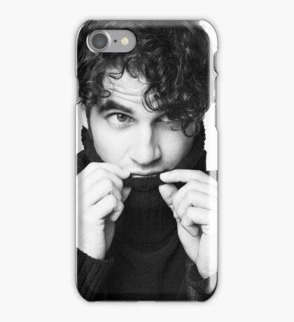 Darren Criss B&W iPhone Case/Skin