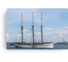 Tall Ships on the St. Lawrence Metal Print