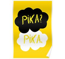 Pika in our stars Poster