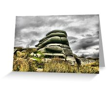 Stone Giant Greeting Card
