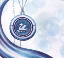 Hook & Swan Sticker