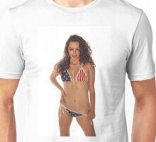 USA Girl Unisex T-Shirt