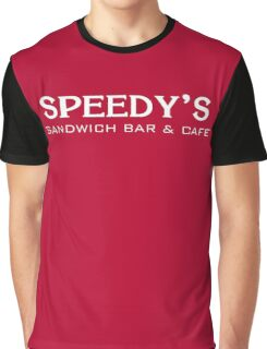 Speedy's Sandwich Bar & Cafe Graphic T-Shirt