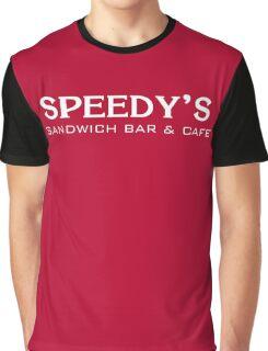Speedy's Sandwich Bar & Cafe Graphic T-Shirt