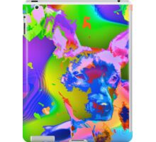 Psychedelic dog iPad Case/Skin