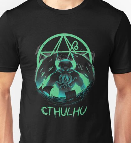 Rise of Cthulhu Unisex T-Shirt
