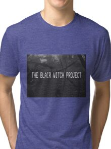 THE BLAIR WITCH PROJECT VHS Tri-blend T-Shirt