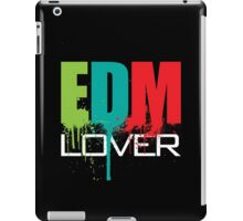 EDM (Electronic Dance Music) Lover (Black) iPad Case/Skin