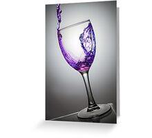Purple Elixir Greeting Card