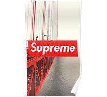 Supreme City Bridge Poster