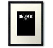 INVERNESS 1945 Framed Print