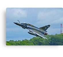 Mirage 2000N slightly abstracted Canvas Print
