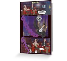 Fall of the Eleventh #4 Greeting Card