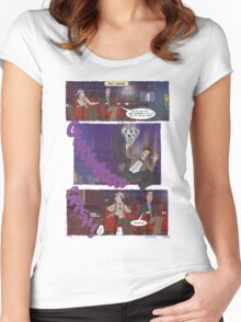 Fall of the Eleventh #4 Women's Fitted Scoop T-Shirt