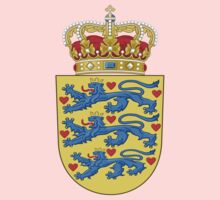 Coat of arms of Denmark Kids Clothes