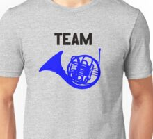 Team Blue French Horn – Ted, Robin, HIMYM Unisex T-Shirt