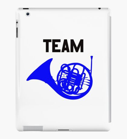 Team Blue French Horn – Ted, Robin, HIMYM iPad Case/Skin