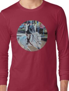 Horseshow T-Shirt or Hoodie Long Sleeve T-Shirt