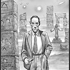 HP Lovecraft - Explorer of Strange Worlds by aglastudio
