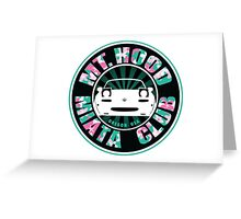 Mt Hood Miata Club PNK Greeting Card