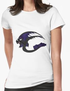 Galaxy Nightfury - Black Womens Fitted T-Shirt