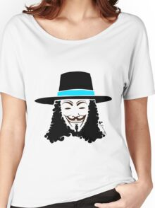 Keinage - Les Couleur | V for Vendetta Women's Relaxed Fit T-Shirt