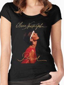 Olivia Newton-John - Let's Get Animal Women's Fitted Scoop T-Shirt