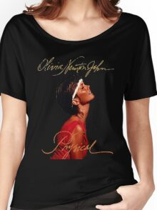 Olivia Newton-John - Let's Get Animal Women's Relaxed Fit T-Shirt