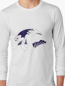 Galaxy Nightfury - White Long Sleeve T-Shirt