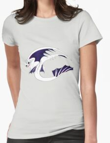 Galaxy Nightfury - White Womens Fitted T-Shirt