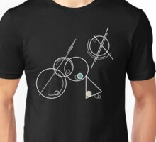 Abstract #11 - white Unisex T-Shirt