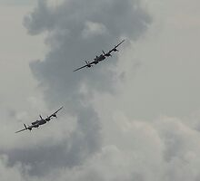 Lancaster Bombers  by yampy