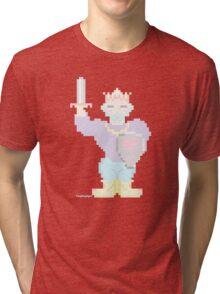 8-Bit King of Hearts  Tri-blend T-Shirt
