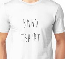 Band Tshirt Unisex T-Shirt