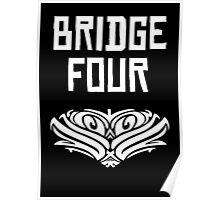 Bridge Four White Kaladin Poster