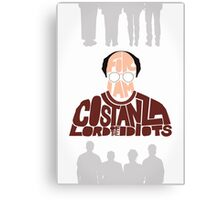 George Costanza - Lord of the Idiots Canvas Print