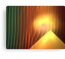 Pyramid Sunrise Canvas Print