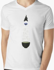Zen tea II Mens V-Neck T-Shirt
