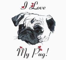 I Love My Pug!  by Patricia Barmatz
