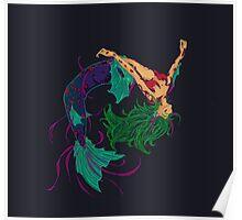 Mermaid Glow Poster