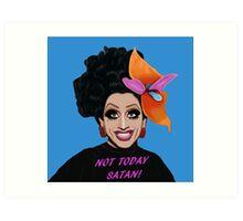 Bianca Del Rio Not Today Satan Art Print