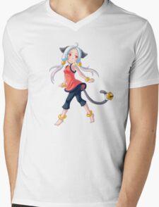 City Girl Mens V-Neck T-Shirt
