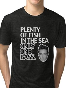 Plenty of Fish in the Sea Only One Bass Tri-blend T-Shirt