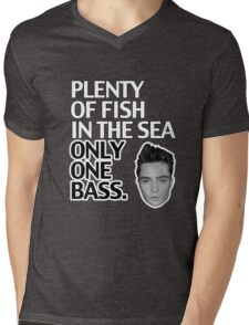 Plenty of Fish in the Sea Only One Bass Mens V-Neck T-Shirt