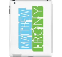 Matthew Fry Irony Arts iPad Case/Skin