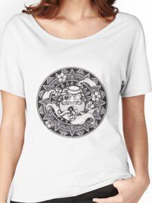 Daruma Mandala Women's Relaxed Fit T-Shirt